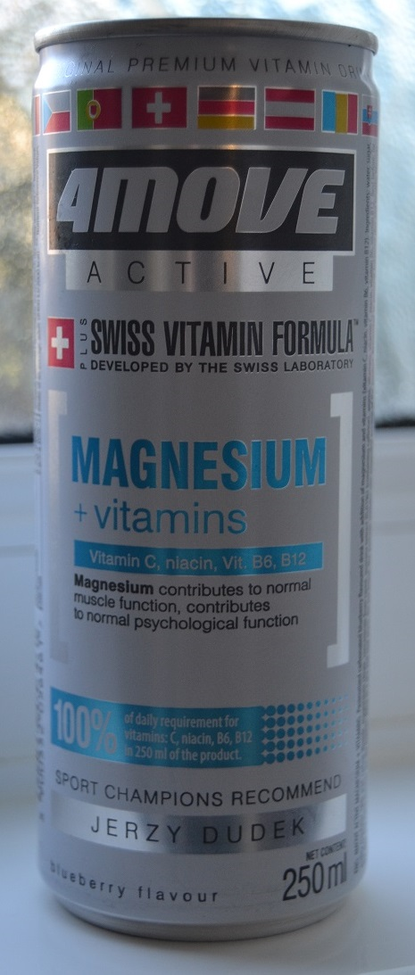 4Move Active Magnesium + Vitamins drink